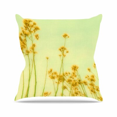 Sylvia Coomes Abstract Wild Flowers Outdoor Throw Pillow Size: 18 H x 18 W x 5 D