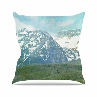 Sylvia Coomes Mountains Nature Outdoor Throw Pillow Size: 16 H x 16 W x 5 D