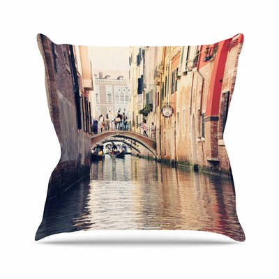 Sylvia Coomes Venice 10 Outdoor Throw Pillow Size: 18 H x 18 W x 5 D