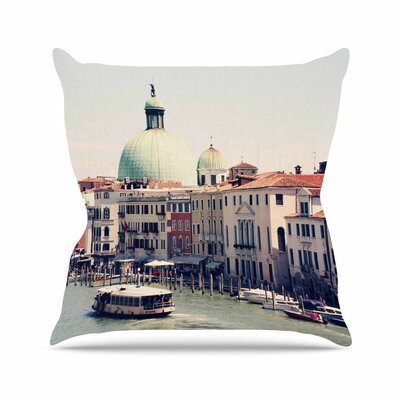 Sylvia Coomes Venice 3 Outdoor Throw Pillow Size: 18 H x 18 W x 5 D