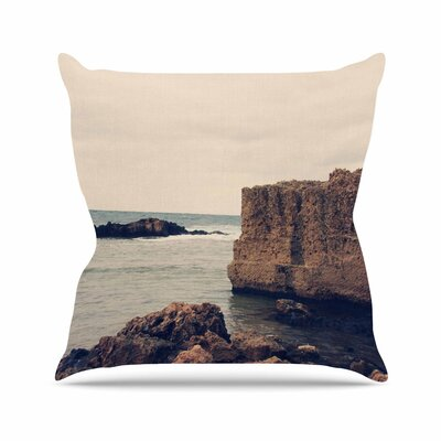 Sylvia Coomes Mediterranean l Outdoor Throw Pillow Size: 18 H x 18 W x 5 D