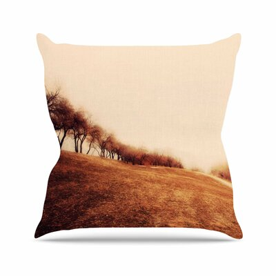 Sylvia Coomes Minimalist Autumn Landscape Outdoor Throw Pillow Size: 18 H x 18 W x 5 D