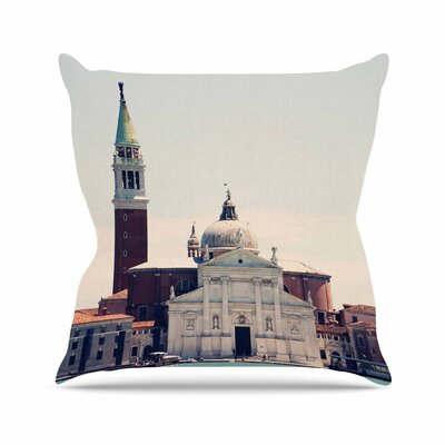 Sylvia Coomes Venice 7 Outdoor Throw Pillow Size: 16 H x 16 W x 5 D