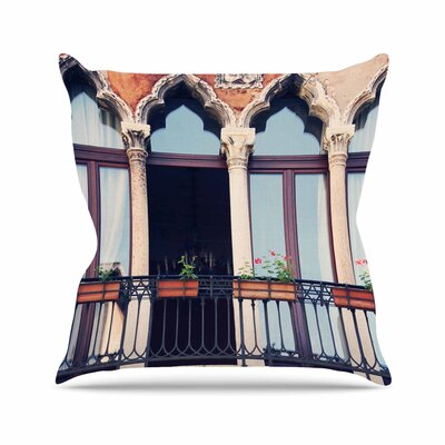 Sylvia Coomes Venice 11 Outdoor Throw Pillow Size: 18