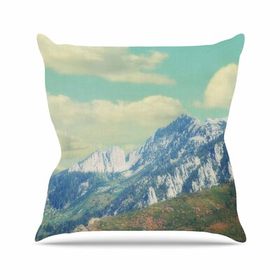 Sylvia Coomes Utah Mountains Nature Outdoor Throw Pillow Size: 16 H x 16 W x 5 D