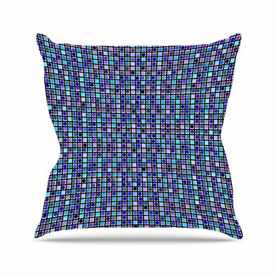 Trebam Mozaik Outdoor Throw Pillow Size: 16 H x 16 W x 5 D
