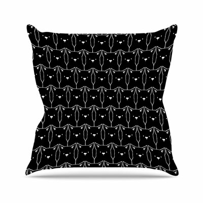 Tobe Fonseca Cats Cats Cats Animals Outdoor Throw Pillow Size: 16 H x 16 W x 5 D