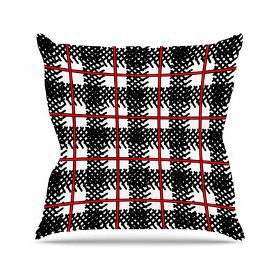 Trebam Kariran Outdoor Throw Pillow Size: 16 H x 16 W x 5 D
