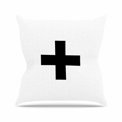 Trebam Plus V.2 Outdoor Throw Pillow Size: 16 H x 16 W x 5 D