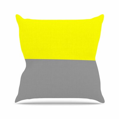 Trebam Polovina V.5 Outdoor Throw Pillow Size: 18 H x 18 W x 5 D