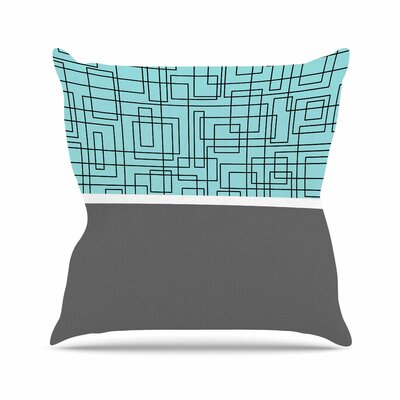 Trebam Pola Outdoor Throw Pillow Size: 18 H x 18 W x 5 D
