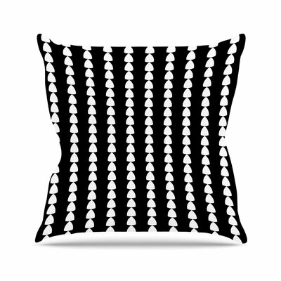 Trebam Perla Outdoor Throw Pillow Size: 18