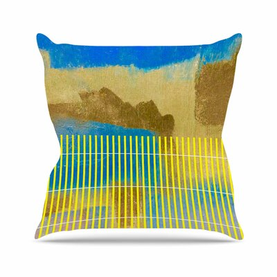 Trebam Okean Outdoor Throw Pillow Size: 18 H x 18 W x 5 D