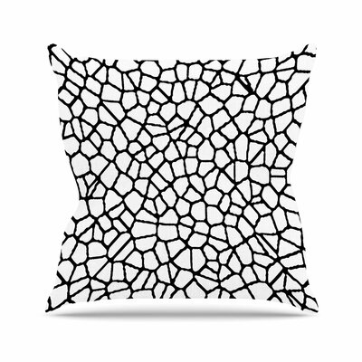 Trebam Staklo I Outdoor Throw Pillow Color: Black