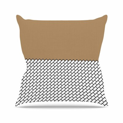 Trebam Opeka Outdoor Throw Pillow Size: 16 H x 16 W x 5 D