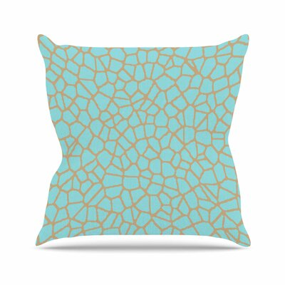 Trebam Staklo I Outdoor Throw Pillow Color: Gray