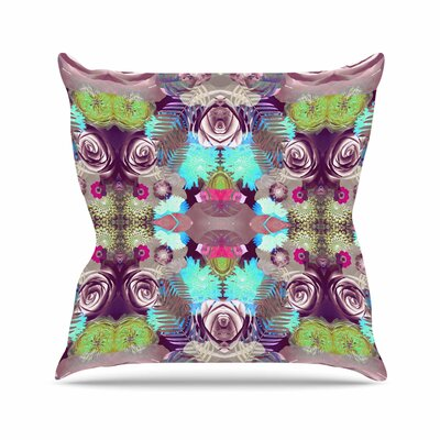 Vasare Nar Kaleidoscopic Boho Outdoor Throw Pillow Size: 18 H x 18 W x 5 D