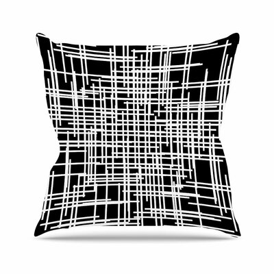 Trebam Visina Abstract Outdoor Throw Pillow Size: 18 H x 18 W x 5 D