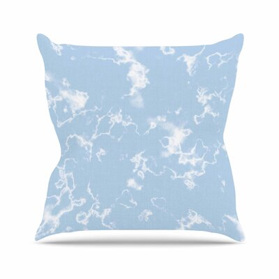 Vasare Nar Marble Clouds Outdoor Throw Pillow Size: 16 H x 16 W x 5 D