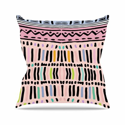 Vasare Nar Native Outdoor Throw Pillow Size: 18 H x 18 W x 5 D
