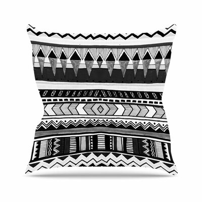 Vasare Nar Tribal Geometric Outdoor Throw Pillow Size: 16 H x 16 W x 5 D