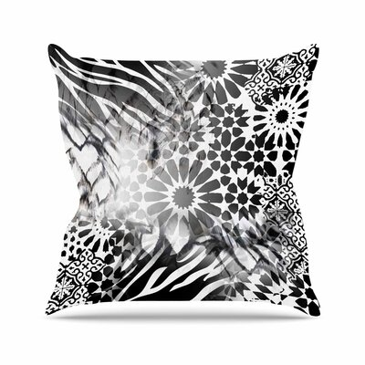 Victoria Krupp Out of Morocco Abstract Outdoor Throw Pillow Size: 18 H x 18 W x 5 D