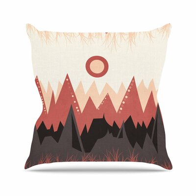 Viviana Gonzalez Landscape A. Outdoor Throw Pillow Size: 16 H x 16 W x 5 D