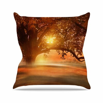 Viviana Gonzalez Romance in Autumn Outdoor Throw Pillow Size: 16 H x 16 W x 5 D