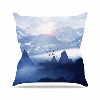 Viviana Gonzalez Winter, Melody... Nature Outdoor Throw Pillow Size: 16 H x 16 W x 5 D