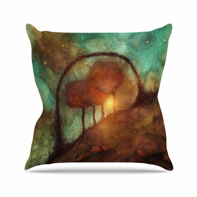 Viviana Gonzalez Track 28: Sunset and Dreams II Outdoor Throw Pillow Size: 18 H x 18 W x 5 D