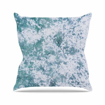 Will Wild Frost Nature Outdoor Throw Pillow Size: 16
