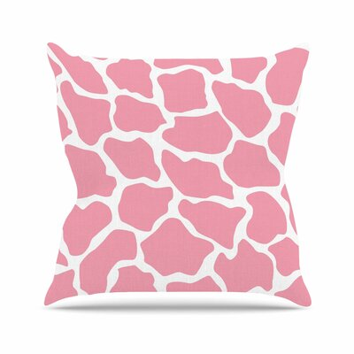 Wildlife Animal Print 11 Digital Outdoor Throw Pillow Size: 16 H x 16 W x 5 D