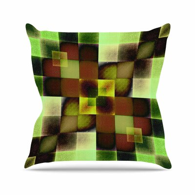 Pia Schneider Colorful Squares Outdoor Throw Pillow Size: 18 H x 18 W x 5 D