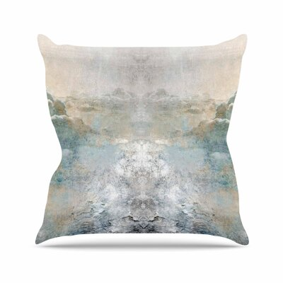 Pia Heaven II Mixed Mediia Abstract Outdoor Throw Pillow Size: 18 H x 18 W x 5 D