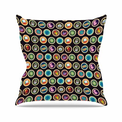 Stephanie Vaeth Toys, Games & Candy Pattern Outdoor Throw Pillow EAAD1552 39274890