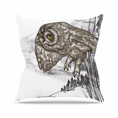 Sam Posnick Midnight Marauder Outdoor Throw Pillow Size: 18 H x 18 W x 5 D