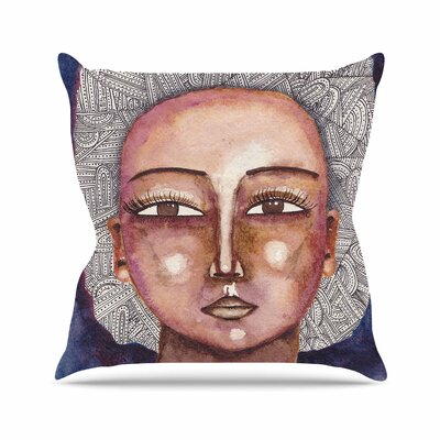 Stacey-Ann Cole Wise Words People Ethnic Outdoor Throw Pillow Size: 16