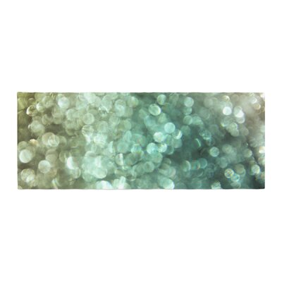 Debbra Obertanec Sparkle Glitter Bed Runner