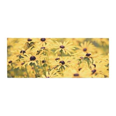 Debbra Obertanec Pantone Flower Daisy Bed Runner
