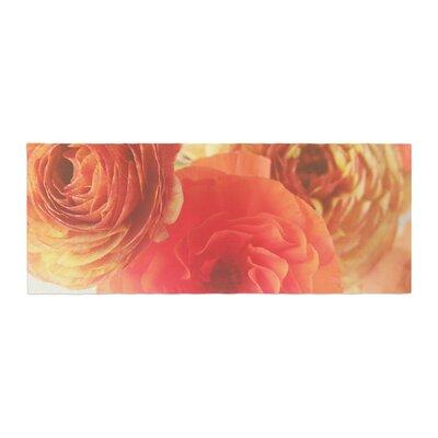 Debbra Obertanec Ranunculus Floral Bed Runner