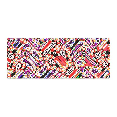 Dawid Roc Camouflage Pattern 2 Abstract Bed Runner