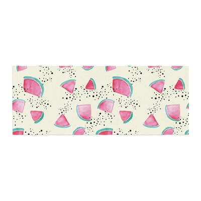Danii Pollehn Watermelon Food Bed Runner