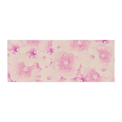 Deepti Munshaw Bouquet Roses Bed Runner