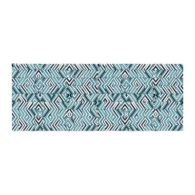 Dawid Roc Maze Geometric Abstract 2 Pattern Bed Runner