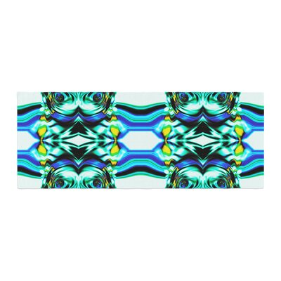 Dawid Roc Inspired by Psychedelic Art 5 Abstract Bed Runner