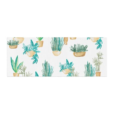 Danii Pollehn House Plants Illustration Bed Runner