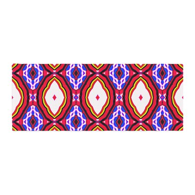 Dawid Roc Inspired by Psychedelic Art 2 Abstract Bed Runner