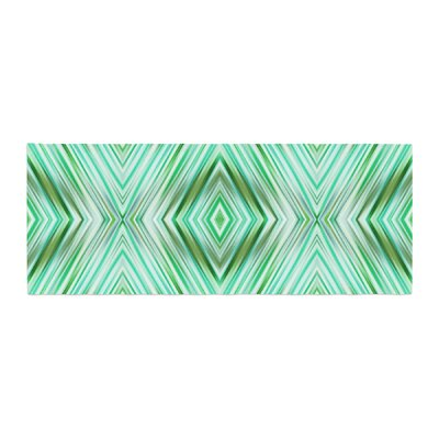 Dawid Roc Modern Ethnic Geometric Bed Runner