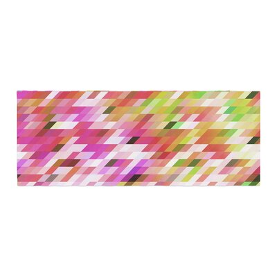 Dawid Roc Spring Summer Geometric Digital Bed Runner