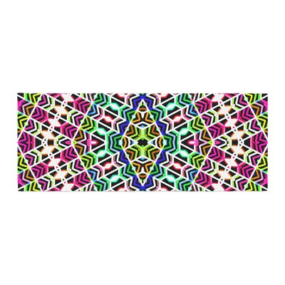 Dawid Roc Colorful Tribal Pattern Bed Runner